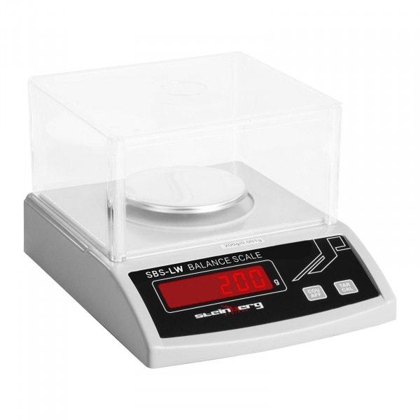 Brugt Præcisionsvægt - 200 g / 0,001 g - hvid