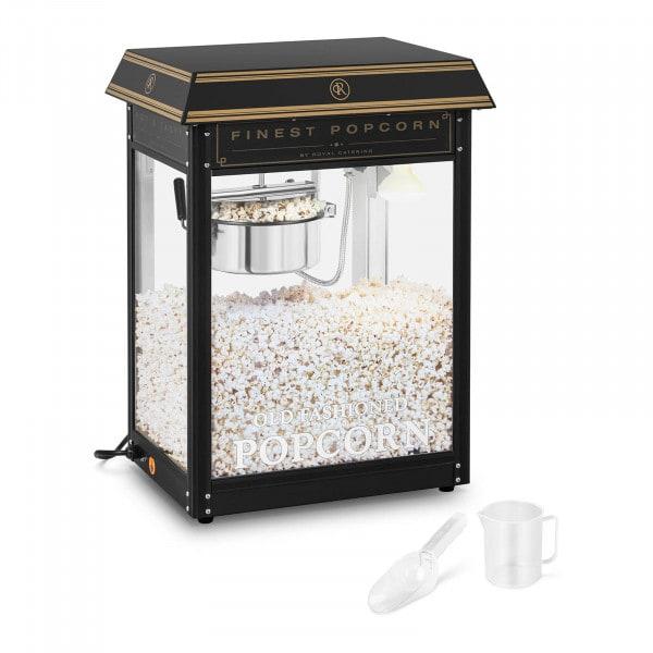 Brugt Popcornmaskine - sort og guld