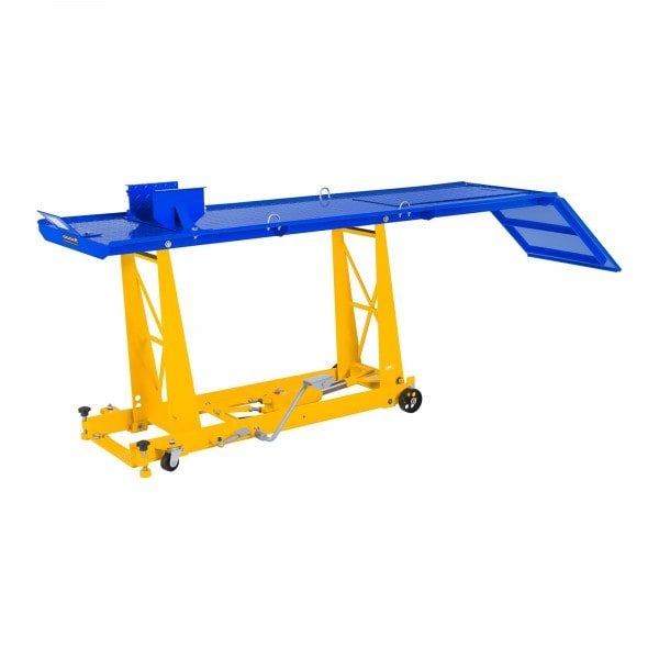 Motorcykellift - 450 kg - 206 x 55 cm