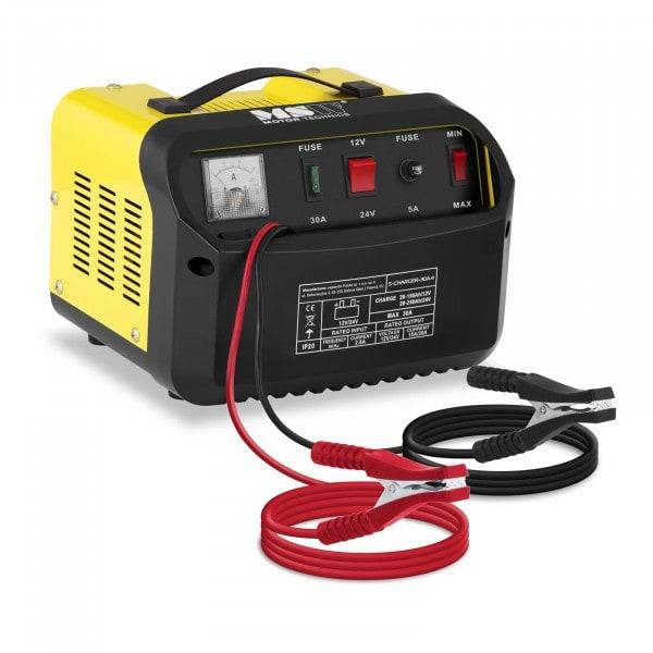 Brugt Batterilader bil - 12/24 V - 15/20 A - kontrolpanel med hældning