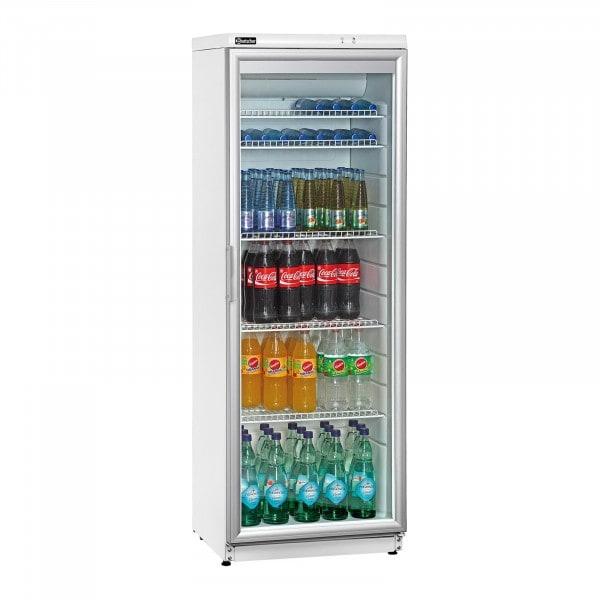 Bartscher flaskekøleskab - 320 l - hvidt
