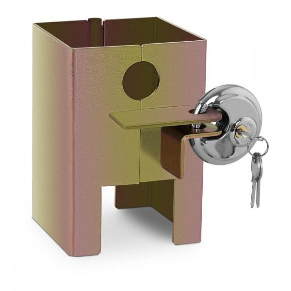 Brugt Trailerlås - 3 nøgler