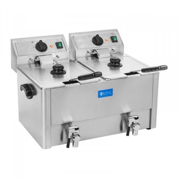 Frituregryde - 2 x 13 liter - EGO-termostat