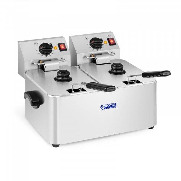 Frituregryde - 2 x 8 liter - EGO-termostat
