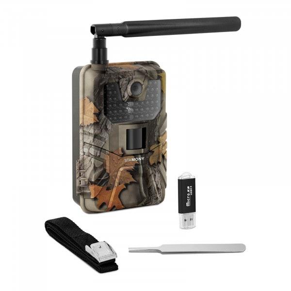 Brugt Vildtkamera - 8 MP - fuld HD - 44 IR-LED - 20 m - 0,3 sek. - LTE med GSM-forstærker