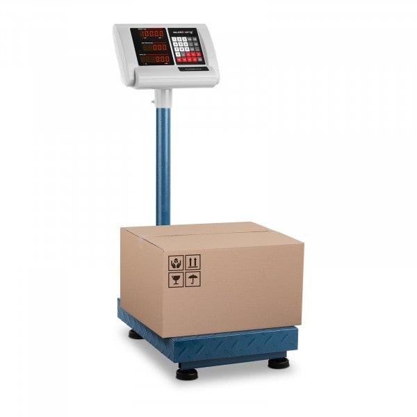 Brugt Industrivægt - 100 kg / 10 g - 40 x 30 cm - sammenklappeligt display