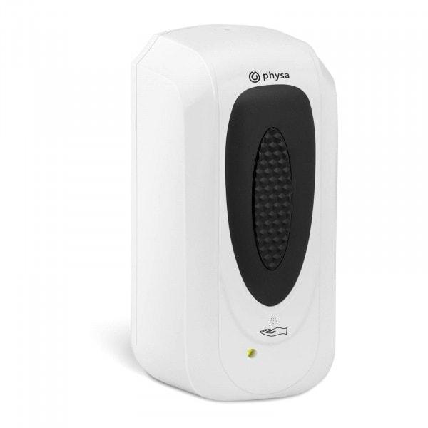 Brugt Sæbedispenser med sensor - 1 l - væghængt - aflåselig - sort/hvid